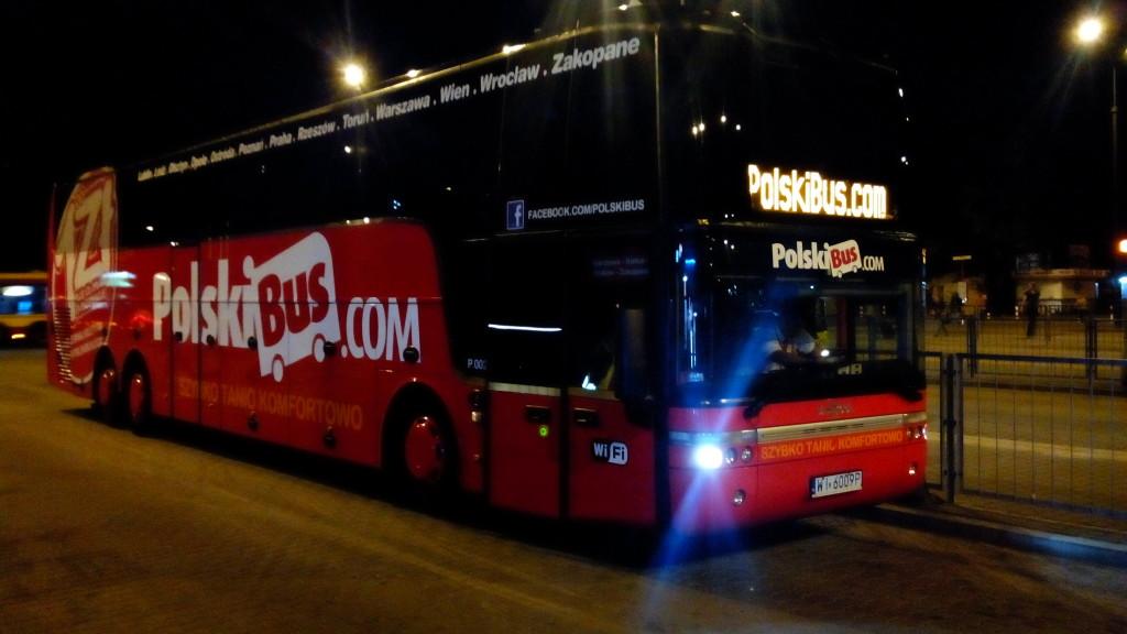 автобус до Варшавы: покупаем билеты
