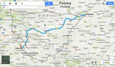 Варшава Прага автобусом за 15 Евро