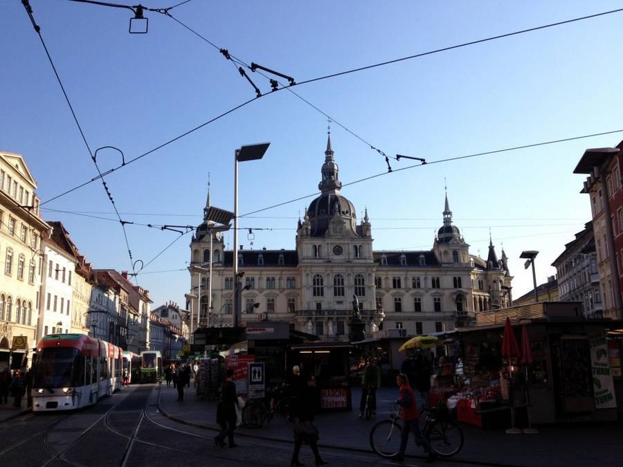 Путешествие Харьков — Киев — Краков – Вена — Грац – Мюнхен за 118 евро или две недели в Европе