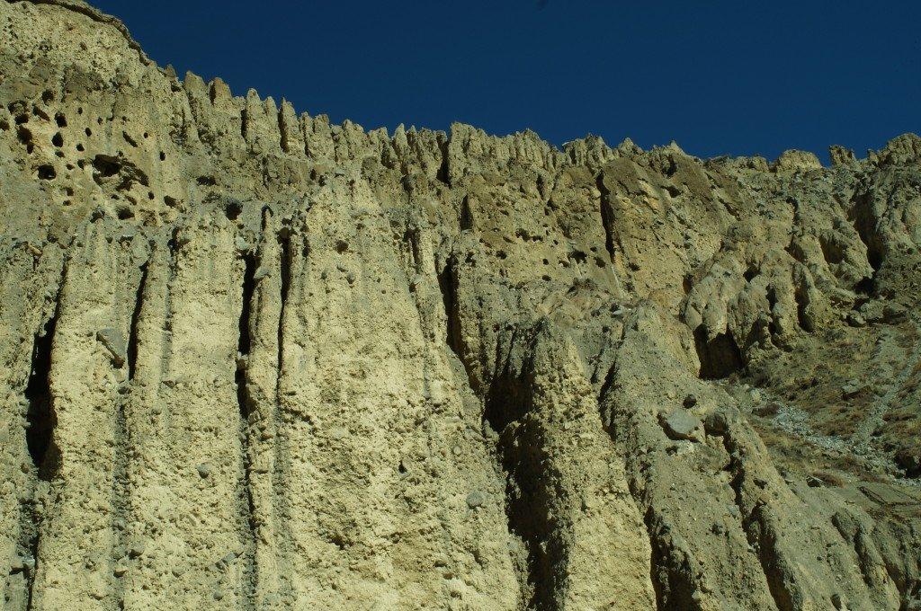 Пещерный город в Гималаях