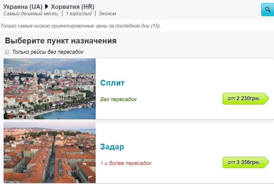 Нужна ли виза в Хорватию в 2017 для украинцев