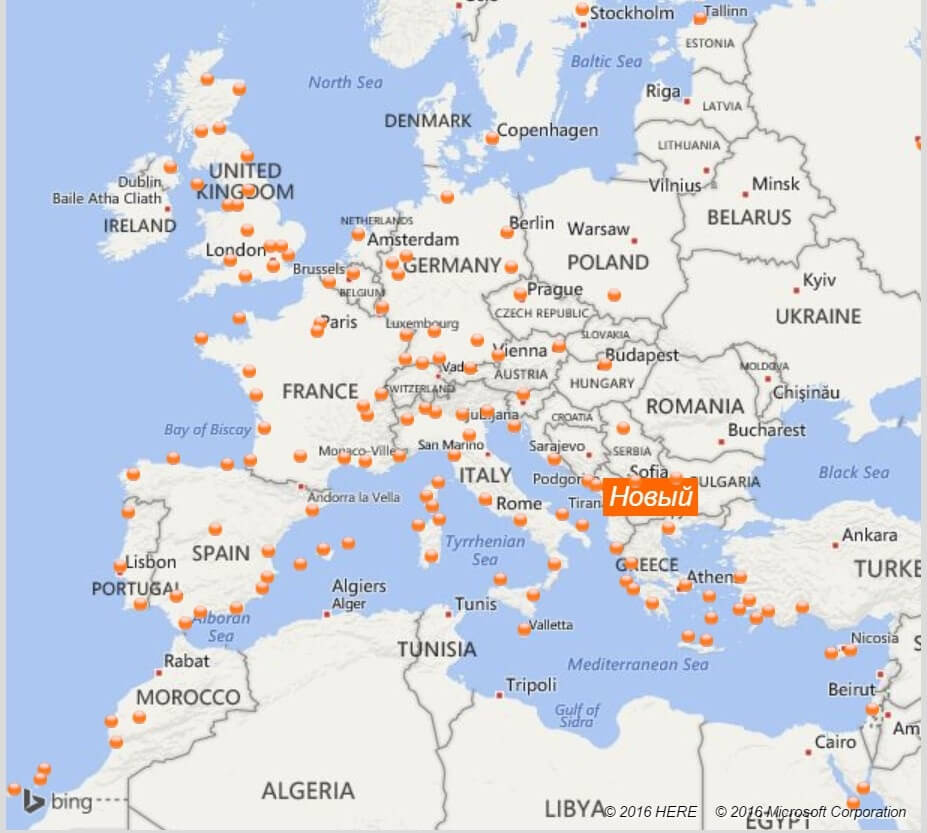 Лоукостеры Европы - EasyJet