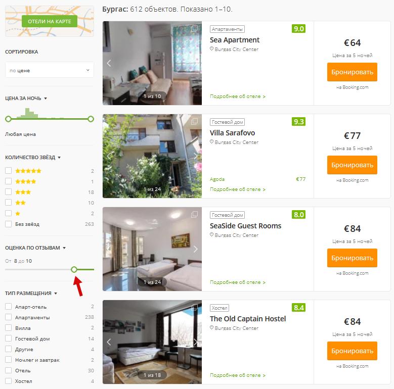 Где найти жильё для въезда в Болгарию